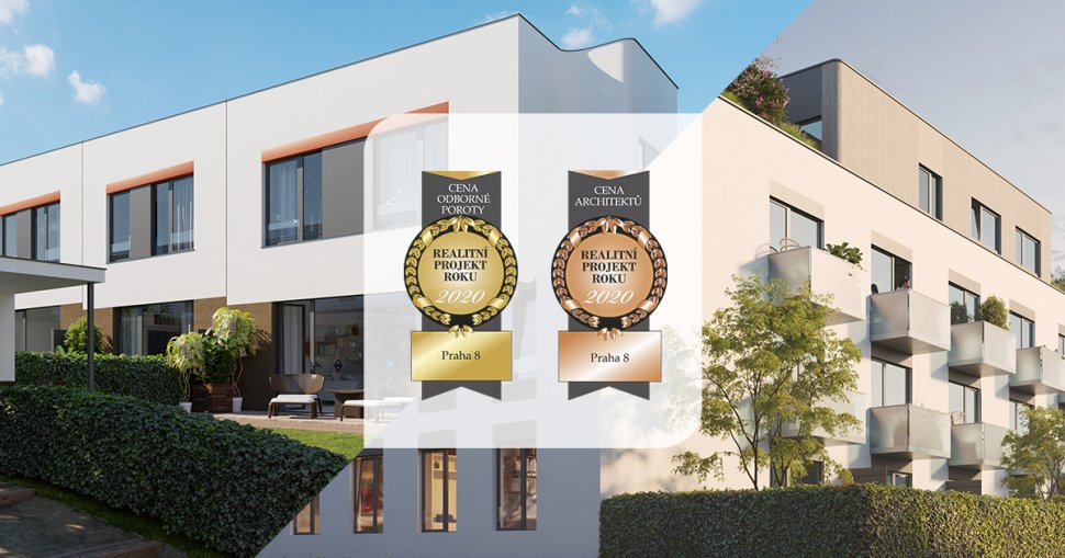 EVERGREEN won two awards in the REAL ESTATE PROJECT OF THE YEAR competition